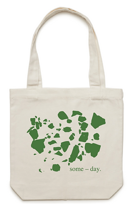 some-day green tote