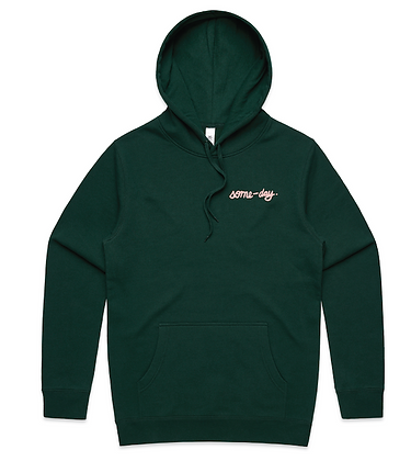 some-day green hoodie ~ preorder