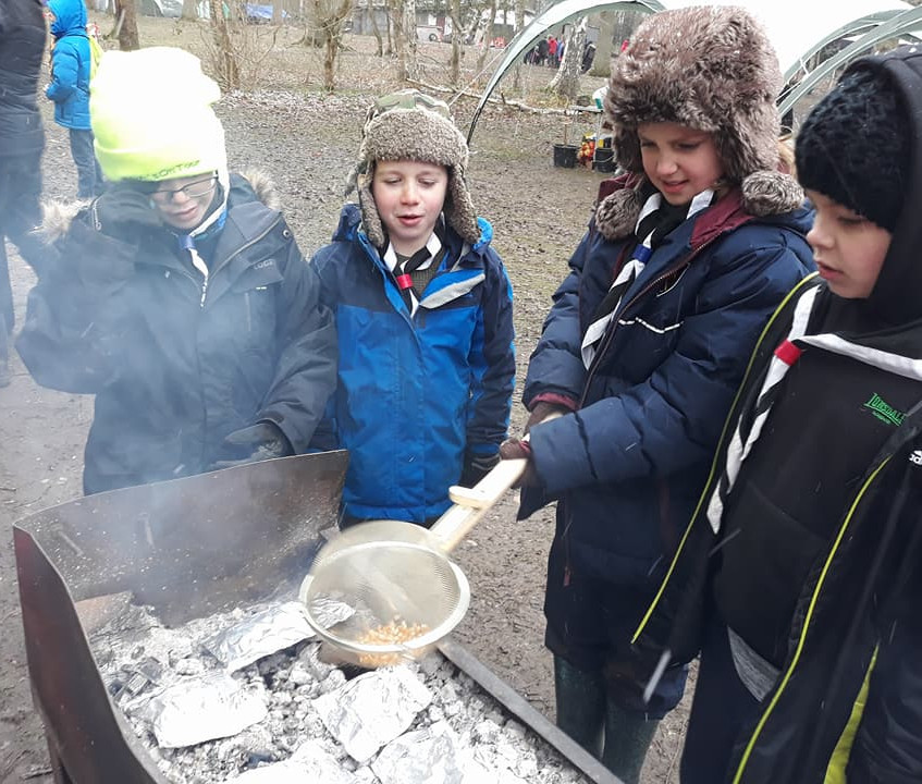 cubs bushcraft day 2018 3