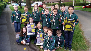1st Park Street Cubs go fishing for pollution