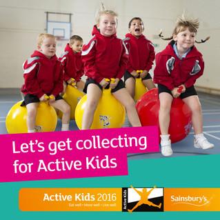 Sainsbury's Active Kids 2016