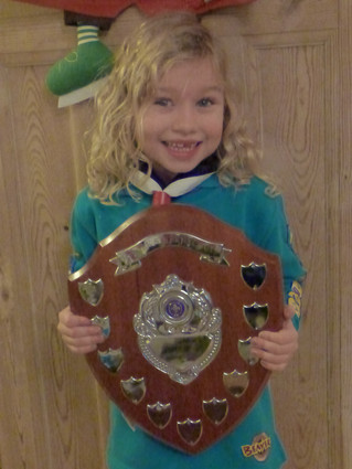 1st Park Street Scouting Member of the Year!