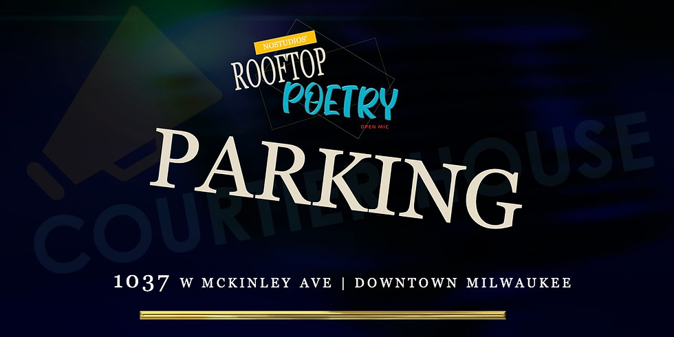 Parking for Skyline Rooftop Poetry