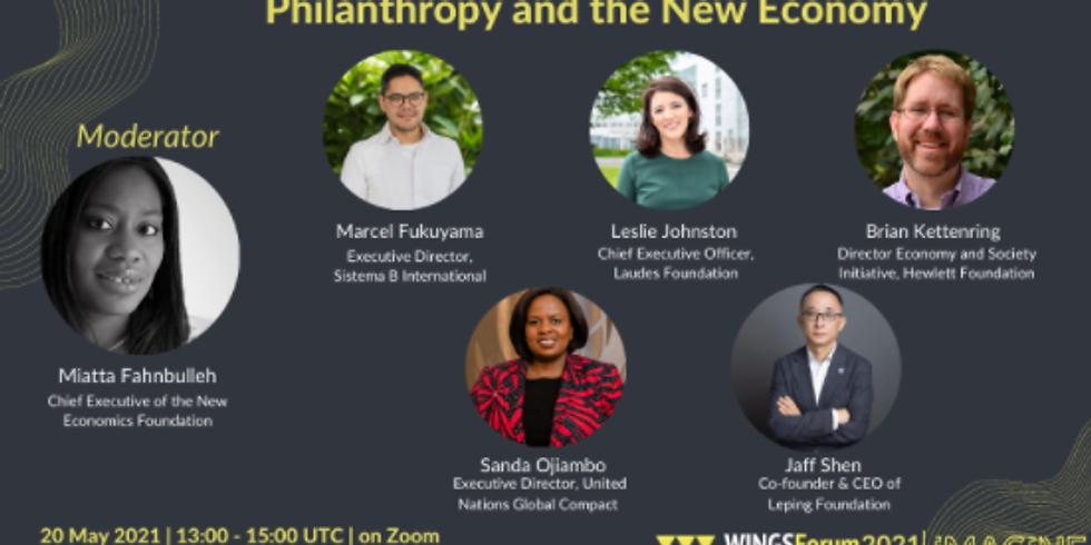 WINGSForum - Filantropia e uma nova economia