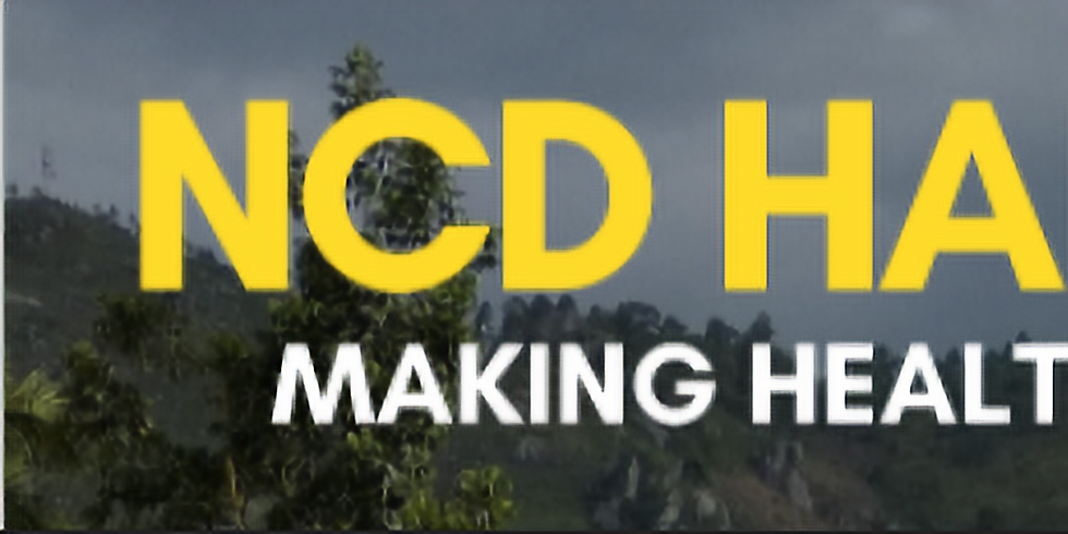 NCD Hard Talks - DCNTs, economia e bem-estar
