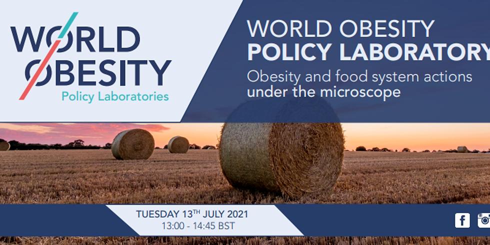 World Obesity - Laboratório de Políticas: Obesidade e ações do sistema alimentar sob o microscópio