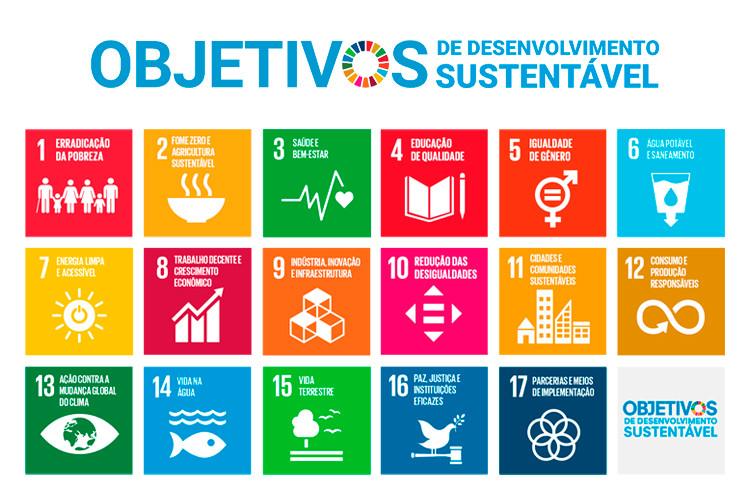 Objetivos de Desenvolvimento Sustentável (ODS).
