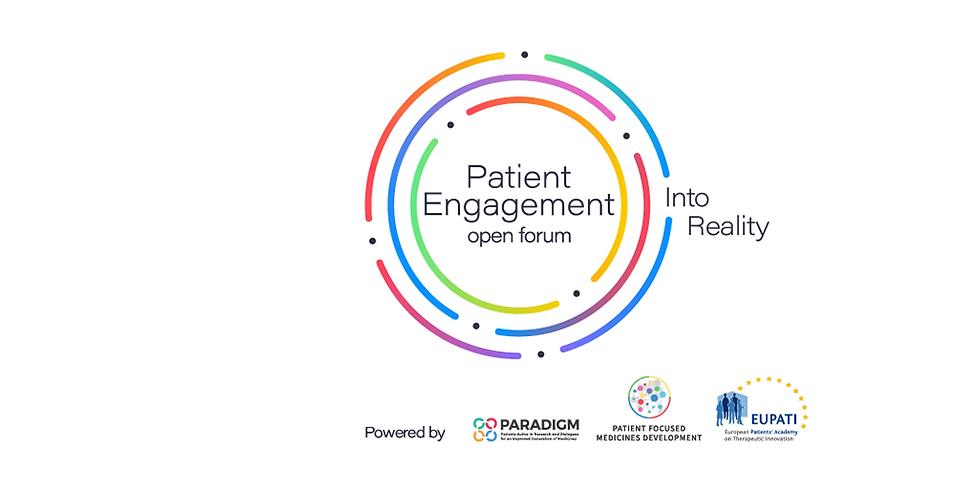 Patient Engagement Open Forum - Envolvimento global do paciente