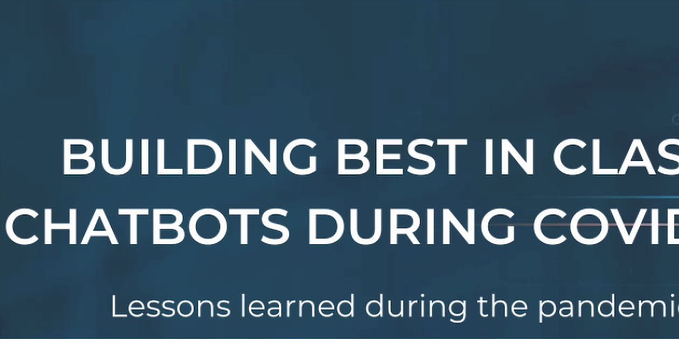 OMS - Construindo os melhores chatbots durante a COVID-19: Lições aprendidas durante a pandemia