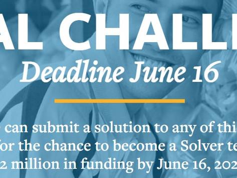 Grant: MIT-Solve Global Challenges 2021 - Prazo até 16/06 - US $ 2 milhões