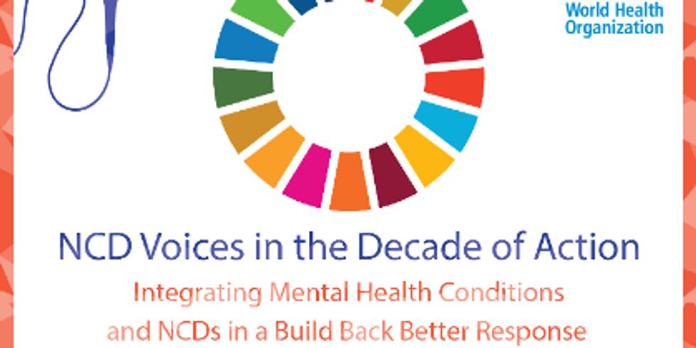 OMS -  Integrando as condições de saúde mental e as DCNTs