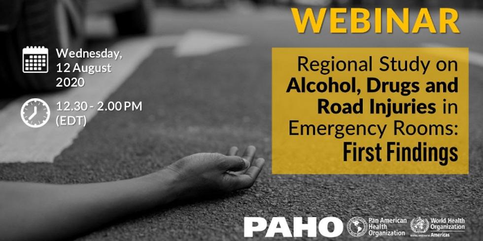 OPAS - Estudo regional sobre álcool, drogas e lesões nas estradas
