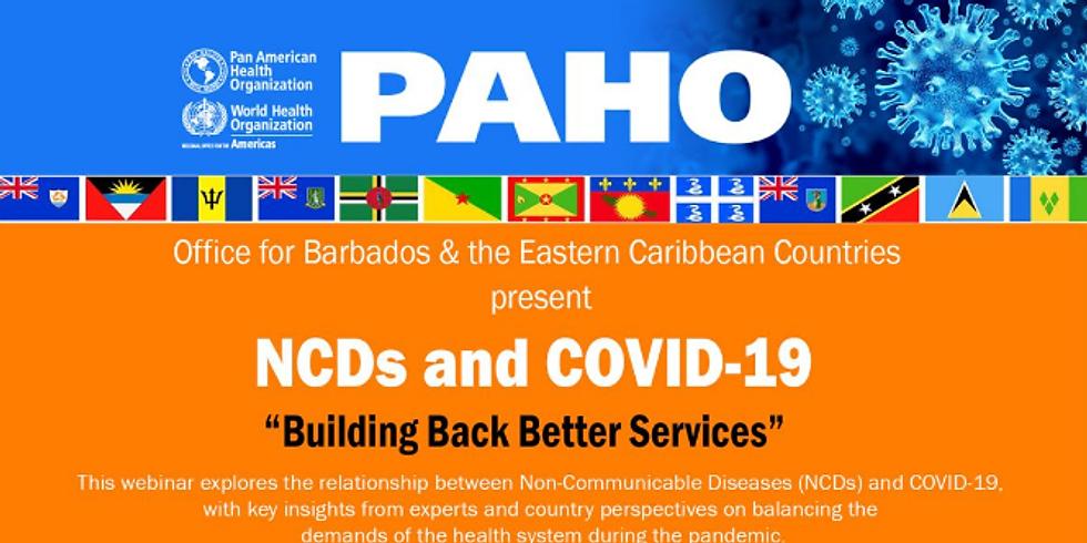 OPAS - DCNTs e COVID-19