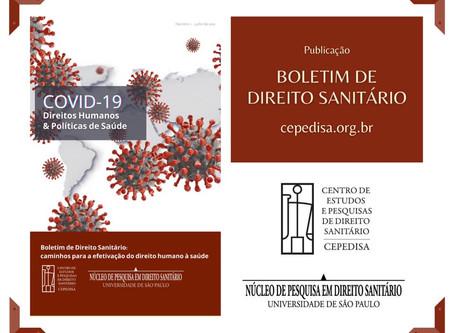 Boletim de Direito Sanitário: caminhos para a efetivação do direito humano à saúde
