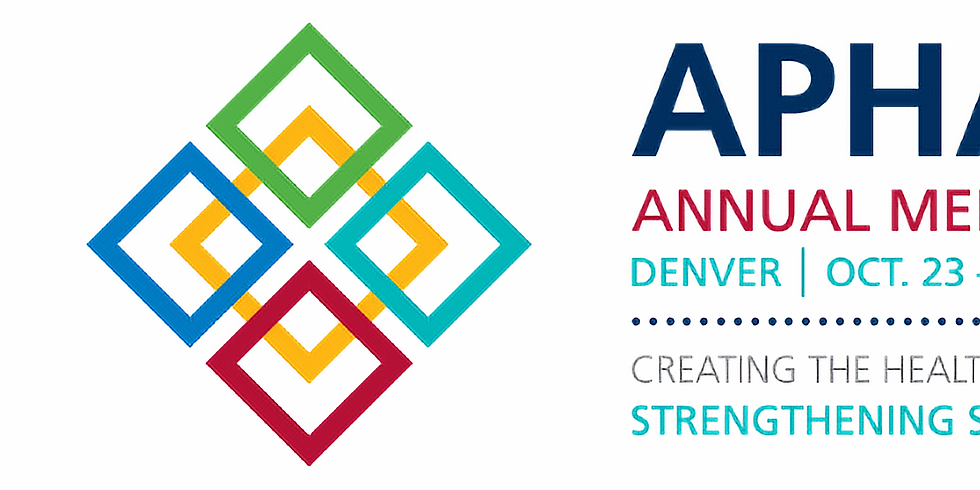 APHA 2021 - Encontro anual