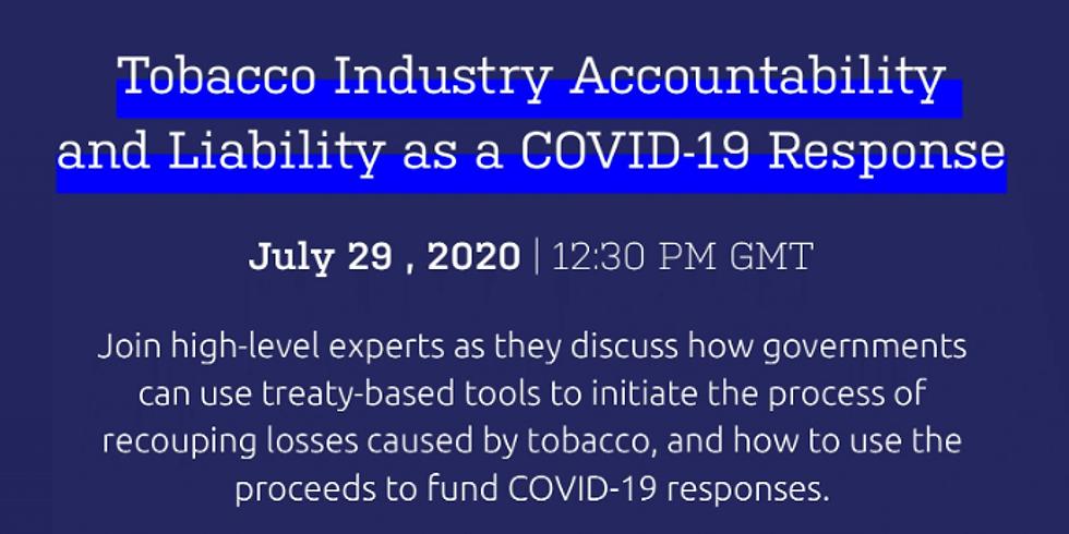 ACT -  A indústria do tabaco e COVID-19