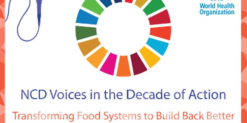 OMS - Mudando sistemas alimentares