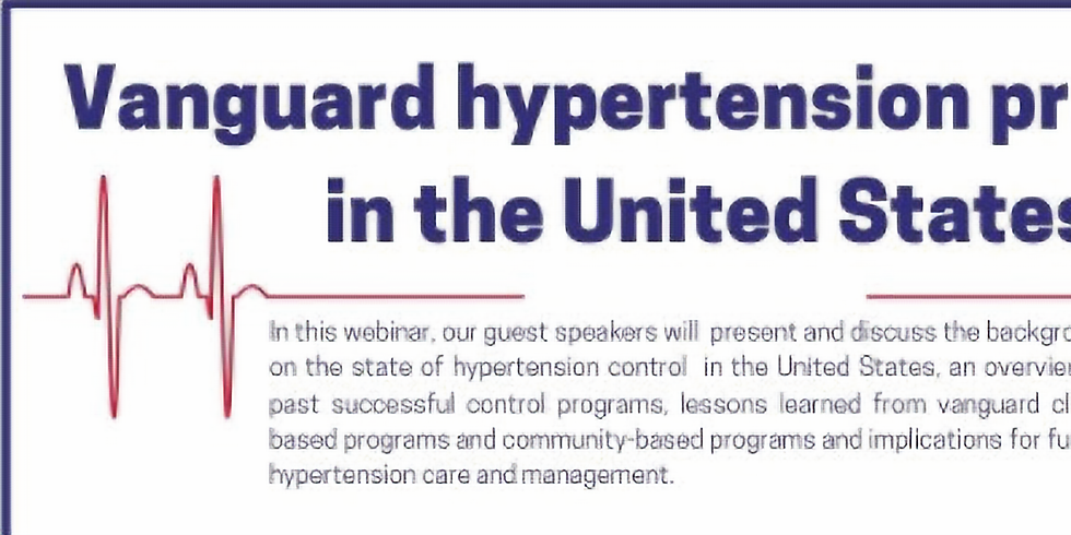 LINKS - Programas de controle de hipertensão Vanguard nos Estados Unidos