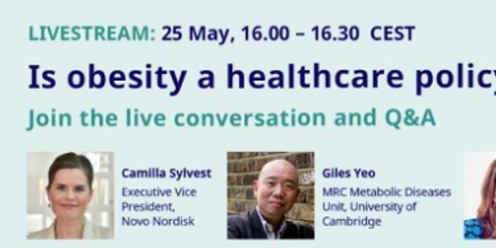 Novo Nordisk - A obesidade é uma prioridade da política de saúde pública?