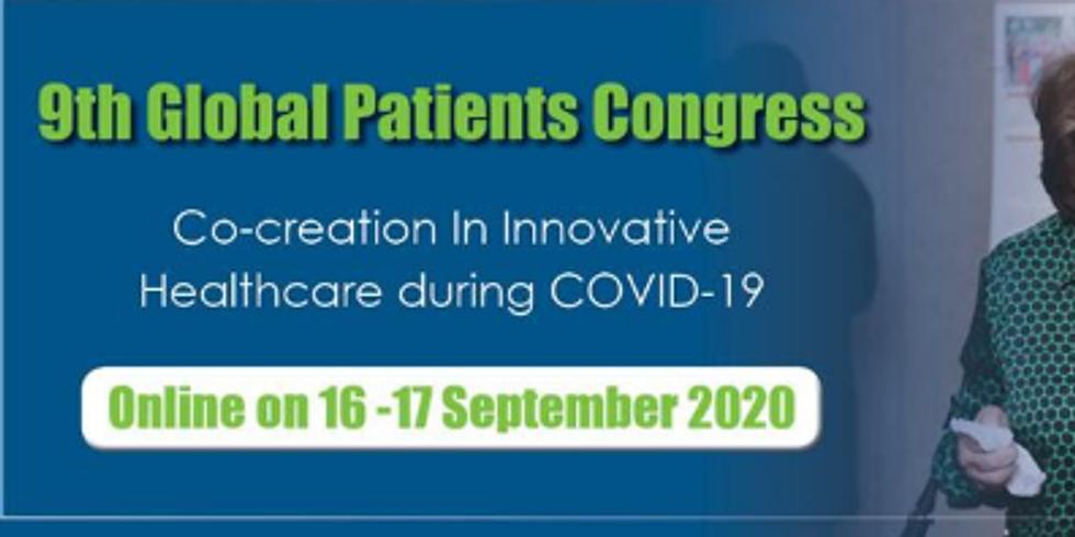 Congresso Global de Pacientes - Inovando no período de COVID-19