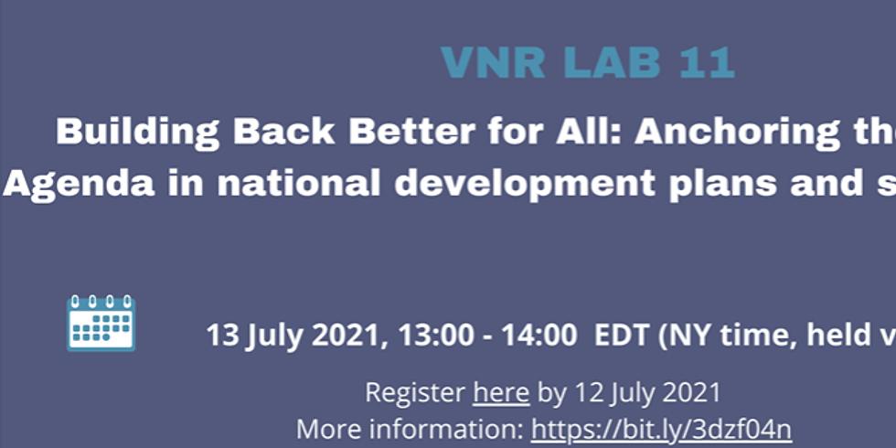 ONU - Construindo Melhor para Todos: Ancorando a Agenda 2030 em planos e estratégias de desenvolvimento nacional