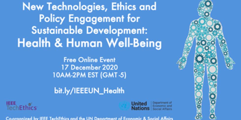 IEEE - Saúde e bem estar humano