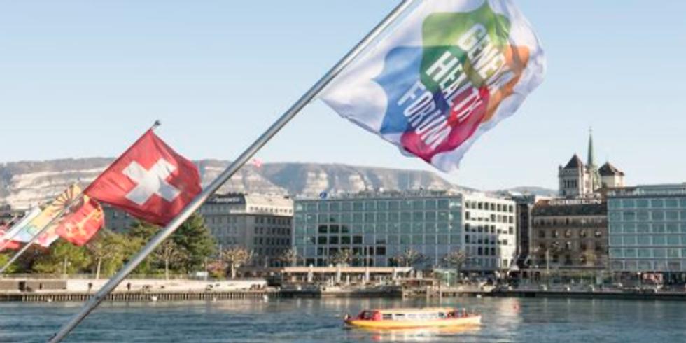 Fórum de Saúde de Genebra - Lançamento dos grupos de trabalho internacionais do OSH