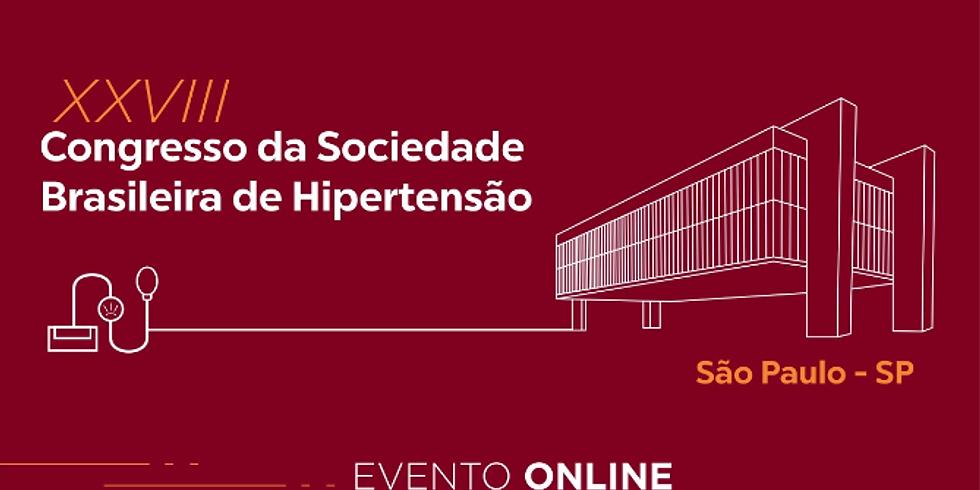 SBH - Congresso da Sociedade Brasileira de Hipertensão