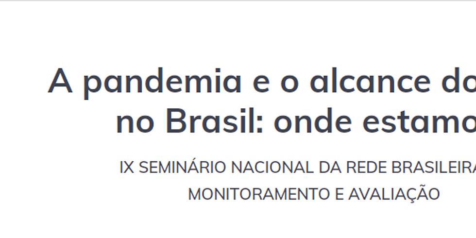 GIFE - IX Seminário Nacional da Rede Brasileira de Monitoramento e Avaliação