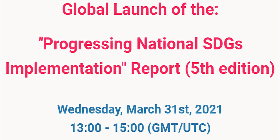Global Launch - Progresso na implementação dos ODS
