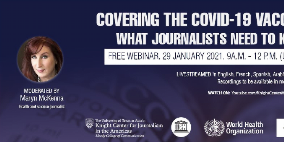 Centro Knight - O que os jornalistas precisam saber sobre a vacina do COVID-19?