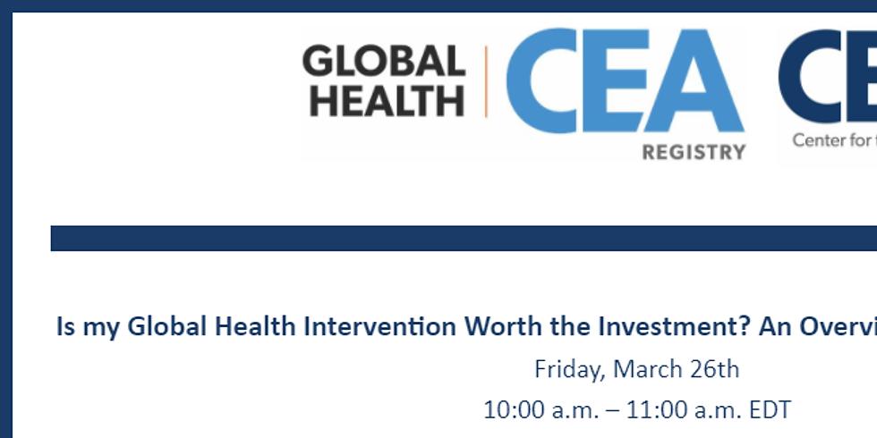 Global Health - Uma visão geral das ferramentas de investimento em saúde