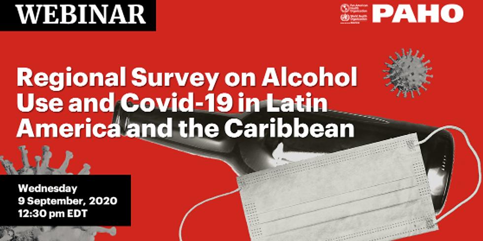OPAS - O consumo de álcool e a COVID-19 na América Latina e no Caribe