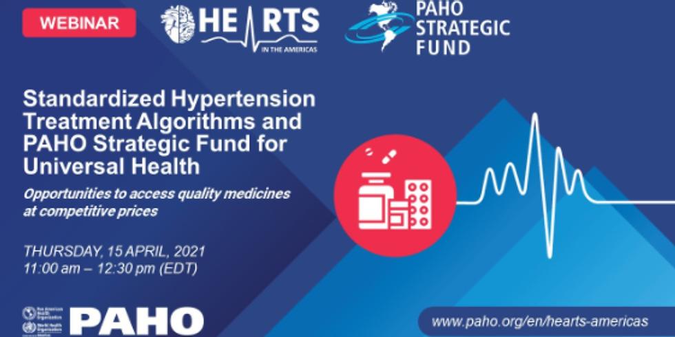 OPAS - Protocolos padronizados para o manejo da hipertensão
