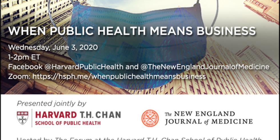Harvard Chan - Saúde Pública e Negócios