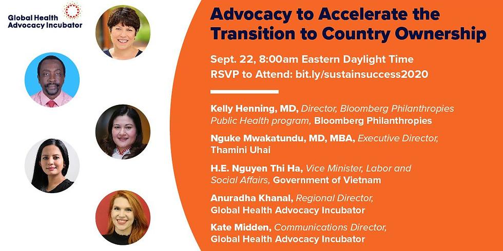 Global Health Advocacy - Advocacy para acelerar intervenções na saúde