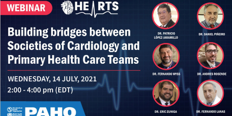 OPAS - Construindo pontes entre as Sociedades de Cardiologia e as Equipes de Atenção Primária à Saúde
