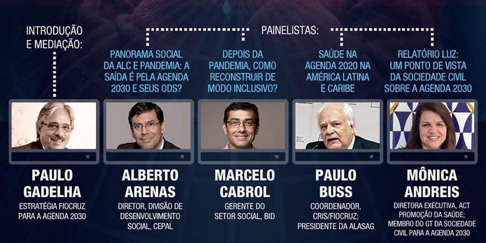 Fiocruz - Agenda 2030 e pandemia na América Latina e Caribe