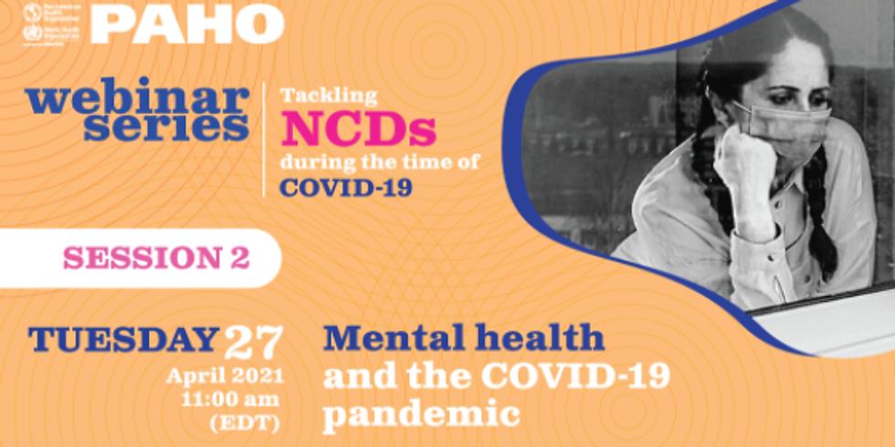 OPAS - Saúde mental e a pandemia de COVID-19