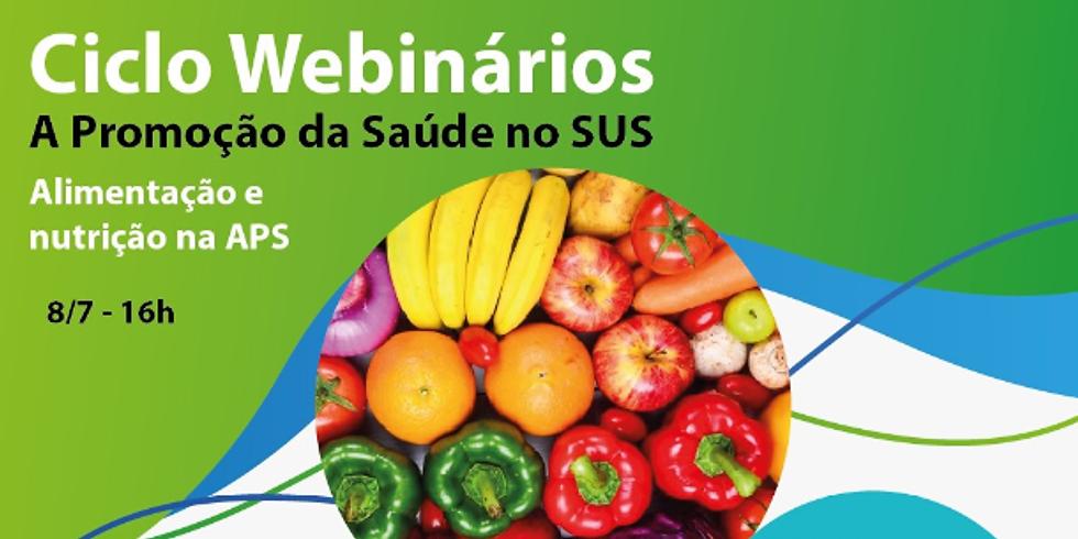 SAPS - Alimentação e nutrição na APS