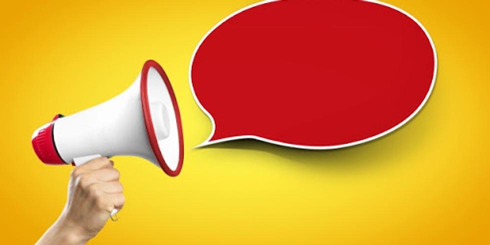 Global Health - Faça sua mensagem ser ouvida