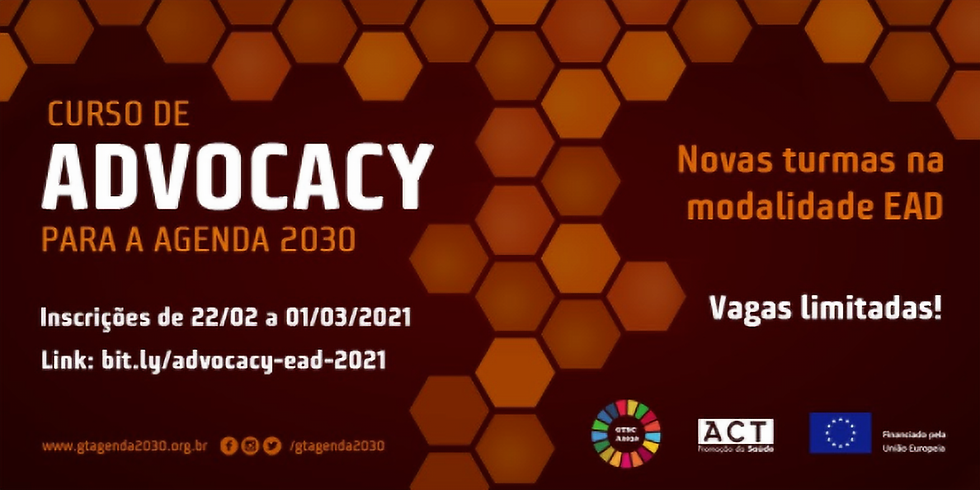 ACT Promoção da Saúde - Curso de advocacy para a agenda 2030