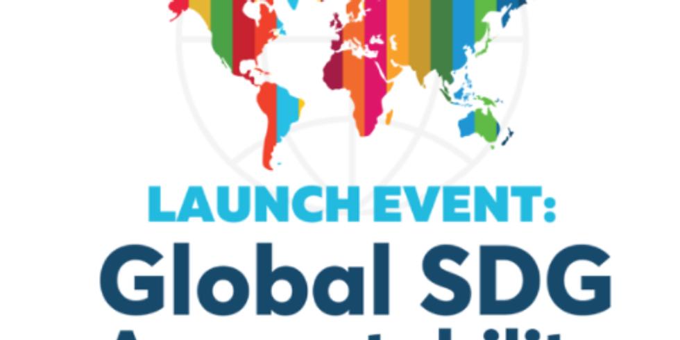 SDG Accountability - Lançamento do relatório de responsabilidade global ODS