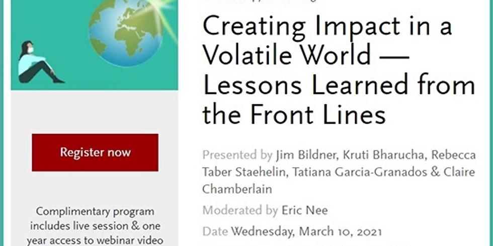 Stanford Social - Aprendendo com líderes como gerar mudanças sociais