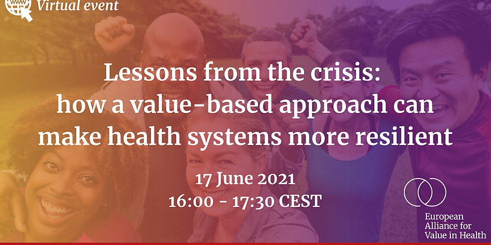 European Alliance for Value in Health - Como tornar sistemas de saúde mais resilientes