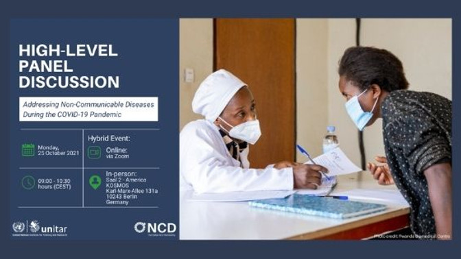 The Defeat-NCD Partnership - Lidando com as doenças crônicas não transmissíveis durante a pandemia de COVID-19