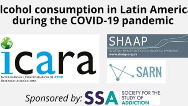ICARA/SHAAP/SARN - Consumo de álcool na América Latina durante a pandemia COVID-19
