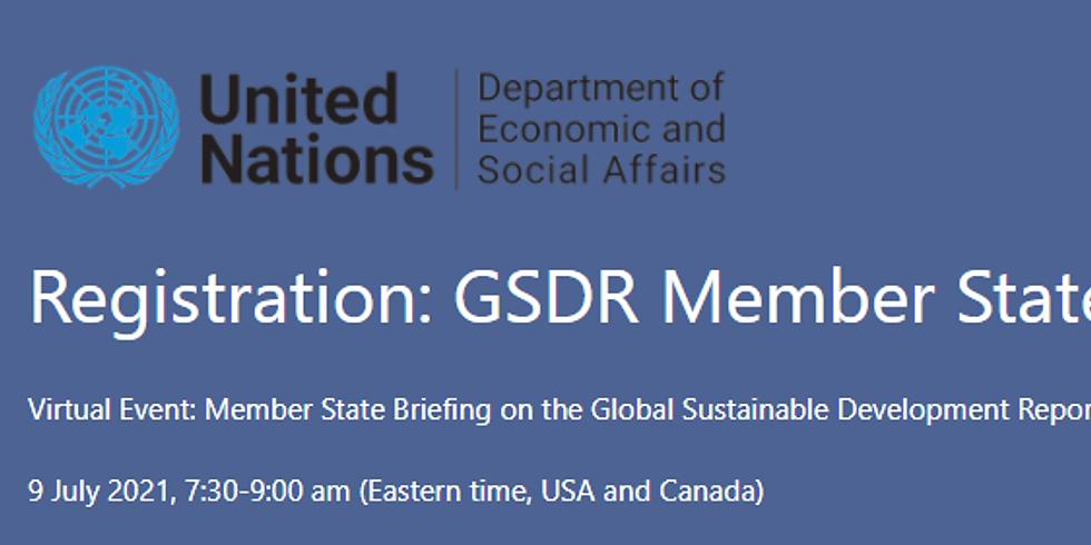 ONU - Engajamento das Partes Interessadas no Relatório de Desenvolvimento Sustentável Global 2023