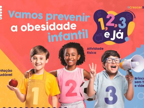 Ministério da Saúde lança Estratégia Nacional para Prevenção e Atenção à Obesidade Infantil