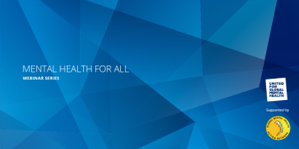 United for Global Mental Health - Saúde mental para todos